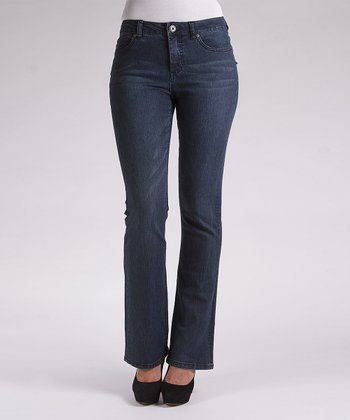 Liverpool Jeans Company Indigo Whiskered Rita Bootcut Jeans