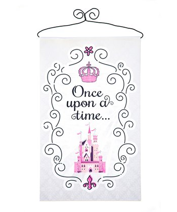 'Once Upon a Time' Canvas Banner