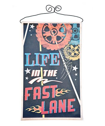 'Fast Lane' Canvas Banner