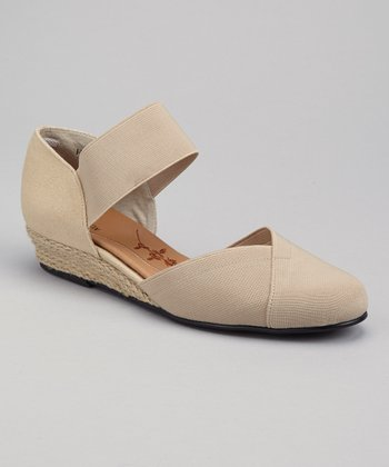 Natural Empress Espadrille Wedge
