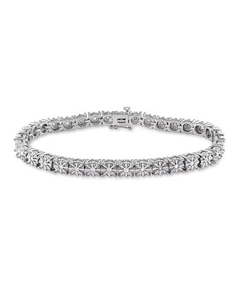 Diamond & Sterling Silver Fashion Bracelet