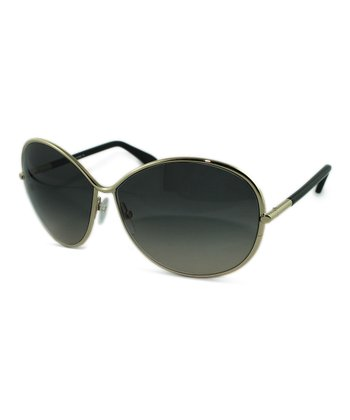 Gold Iris Sunglasses