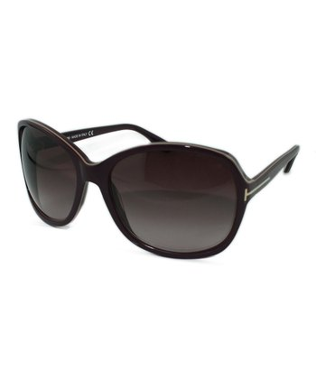 Burgundy Sheila Sunglasses