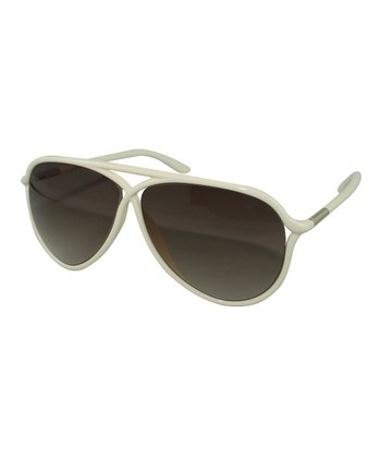 White Maximillion Sunglasses