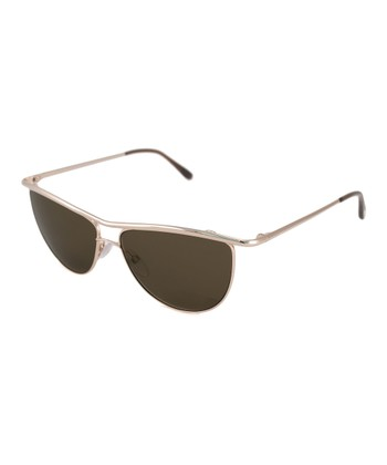 Gold Helene Sunglasses
