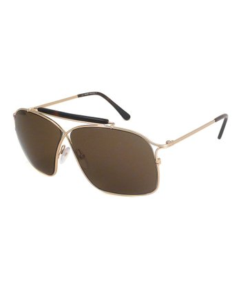 Gold Felix Sunglasses