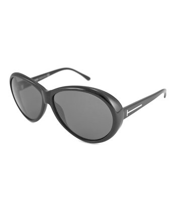 Black Geraldine Sunglasses