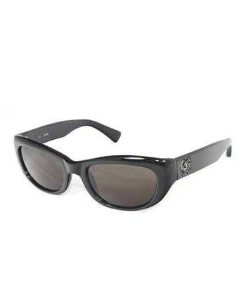 Black Shiny Sunglasses - Women