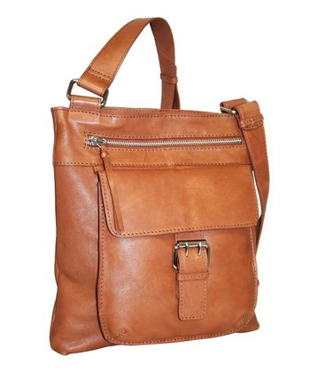 Cognac Covington Crossbody Bag