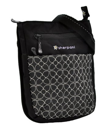 Pewter Embroidered Prima Crossbody Bag