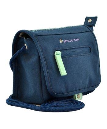Sherpani Blue Stone Uno Crossbody Bag