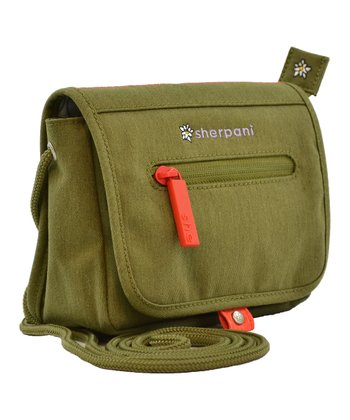 Sherpani Olive Uno Crossbody Bag