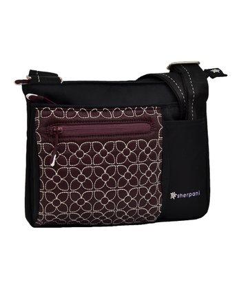 Sherpani Plum Tara Crossbody Bag
