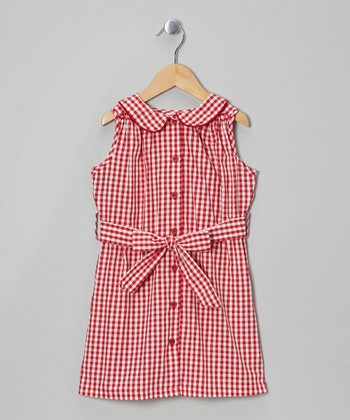 Red Gingham Madden Dress - Infant, Toddler & Girls