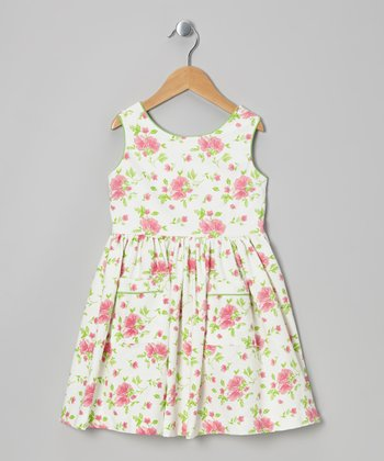 Pink Roses Melodie Dress - Infant, Toddler & Girls