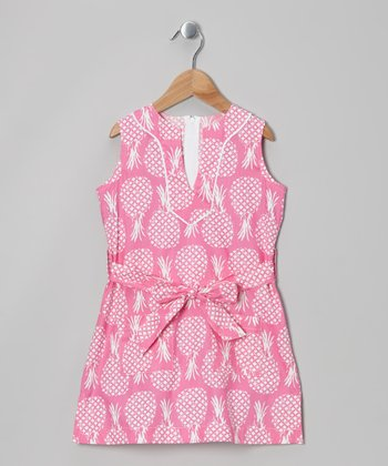 Pink Pineapple Tunic - Toddler & Girls