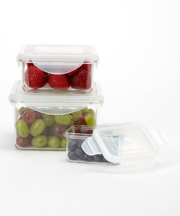 Tritan Food Storage Three-Piece Container Set