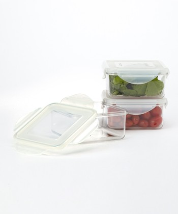 Square 22-Oz. Food Storage Container - Set of Three