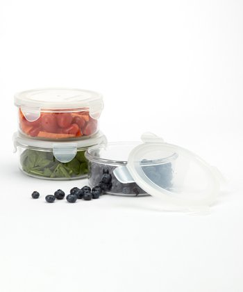 Round 25-Oz. Food Storage Container - Set of Three