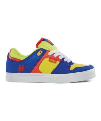 Blue & Yellow Rockfield Sneaker