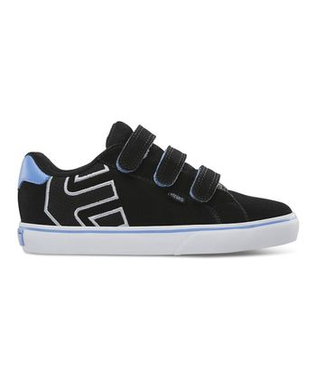 Black & Blue Autism Speaks Fader Vulcan Triple-Strap Sneaker