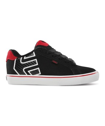Black & Red Fader Vulcan Sneaker
