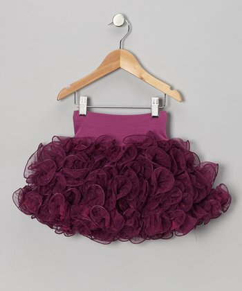 Plum Swirl Skirt - Infant, Toddler & Girls