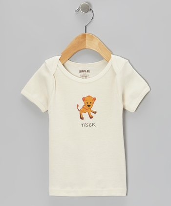 Natural 'Tiger' Organic Tee - Infant