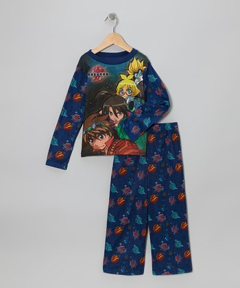 Blue Pajama Set - Boys