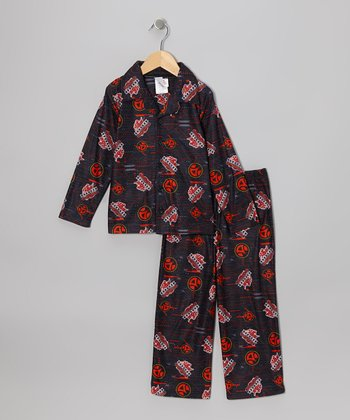 Brown Pajama Set - Boys