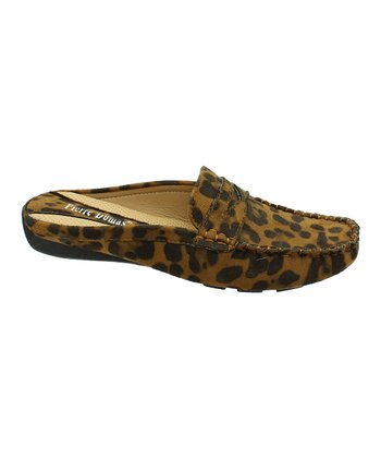 Cheetah Viola Slide Loafer