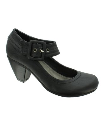 Black Iris 5 Mary Jane Pump
