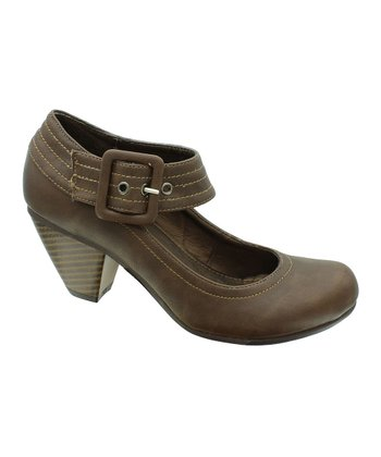 Brown Iris 5 Mary Jane Pump