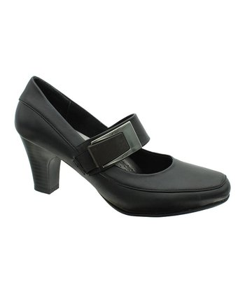 Black Softs-4 Mary Jane Pump