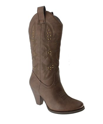 Brown Pembrook 6 Cowboy Boot