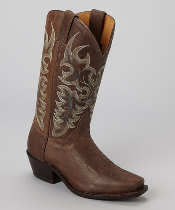 Chocolate Cowboy Boot - Women