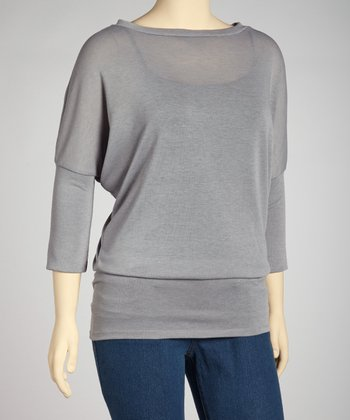 Gray Tunic - Plus