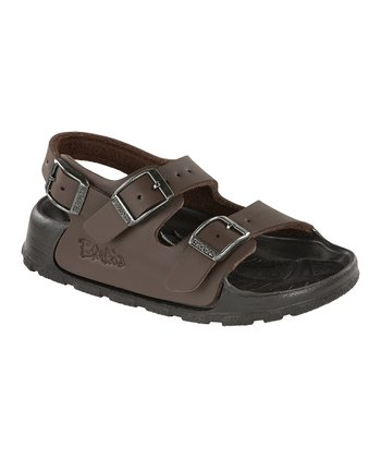 Neoprene Brown Birko-Flor Aruba Sandal - Kids