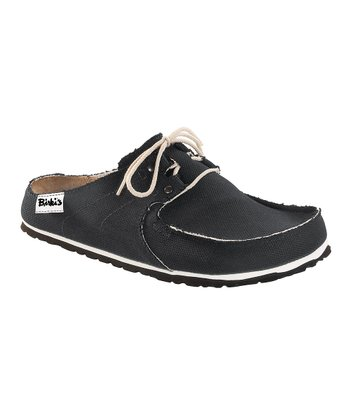 Skipper Black Super Slip-On Shoe - Women & Men