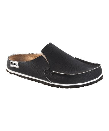 Skipper Black Classic Slip-On Shoe - Men