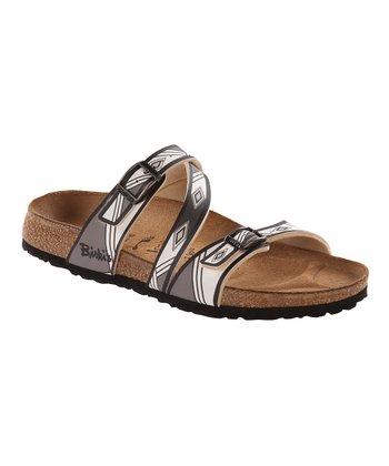 Aztec Black Salina Slide - Women