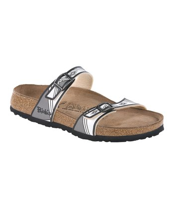 Aztec Black Tahiti Slide - Women