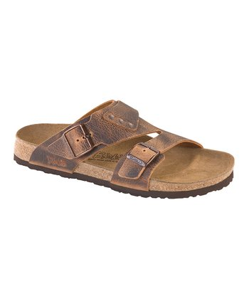 Arunta Brown Finn Slide - Men