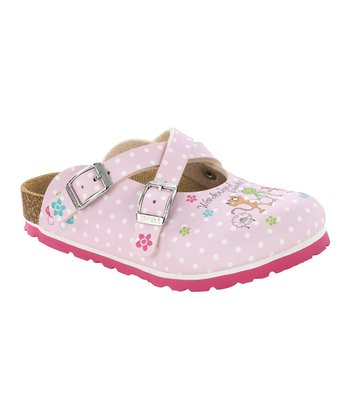 Crazy Friends Rose Birko-Flor Dorian Mule - Kids