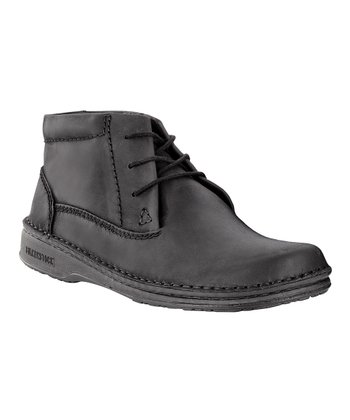 Black Memphis Ankle Boot - Men