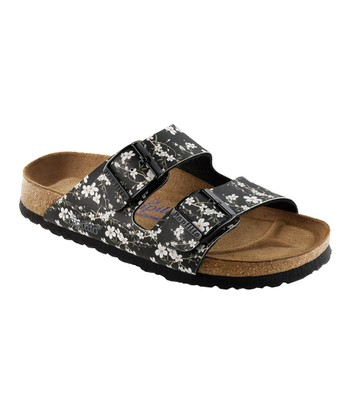 Black Magnolia Arizona Slide - Women
