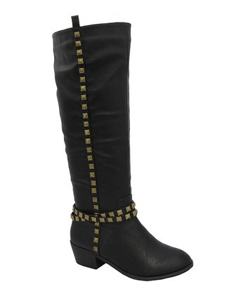 Black Janne Boot