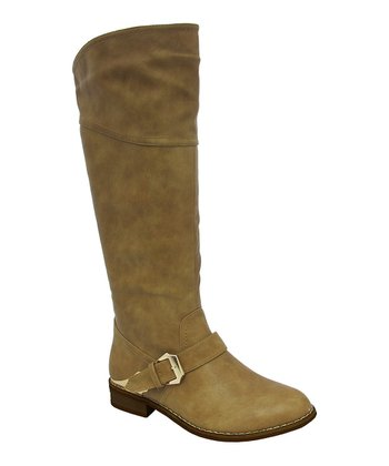 Beige Duke Boot