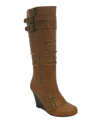 Rust Bonita-95 Wedge Boot