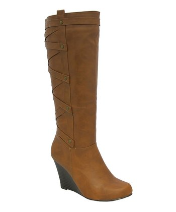 Rust Bonita Wedge Boot
